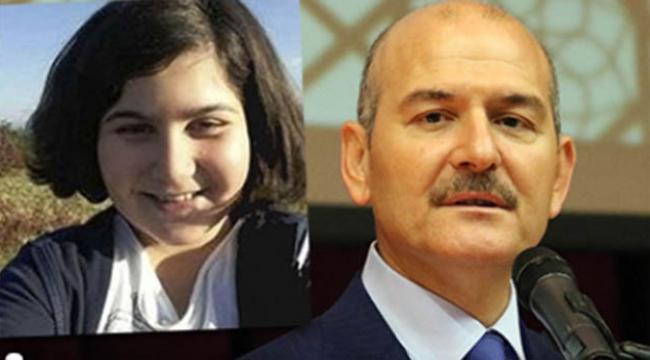 Bakan Soylu'dan 'Rabia Naz' açıklaması