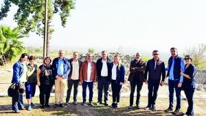 Başkanlar  Tatarlı'da!