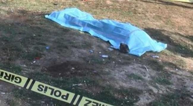 Boş arazide ceset bulundu