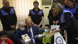 Emniyet müdürü lösemi hastalar için ilik kampanyası başlattı