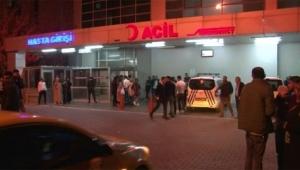 Hastanede silahlı kavga 1'i ağır 3 kişi yaralandı