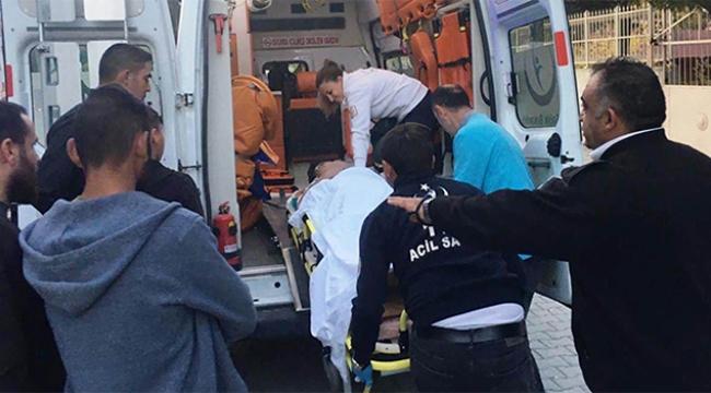 Misafirliğe giden çocuk 3. kattan düşüp yaralandı