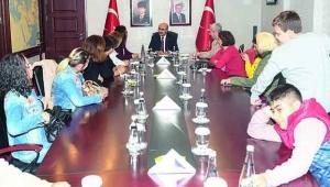 Otizmle Barış Derneği'nden Vali Demirtaş'a ziyaret