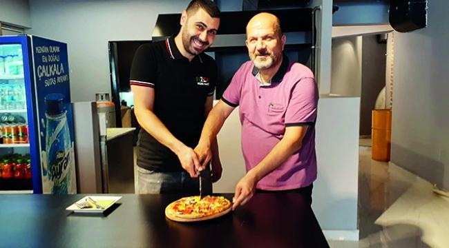 Pizza için İtalya'ya gitmenize gerek yok
