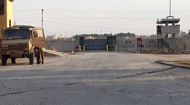 Türkiye sınırındaki patlayıcılar imha ediliyor