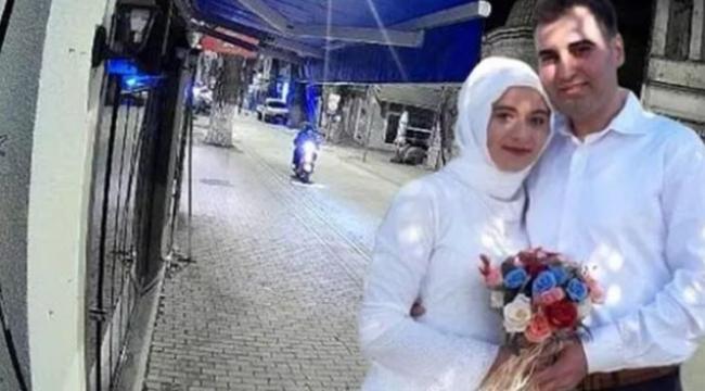 2 ay önce evlenen çifti kaza ayırdı
