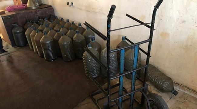 Adana'da 300 litre kaçak akaryakıt ele geçirildi