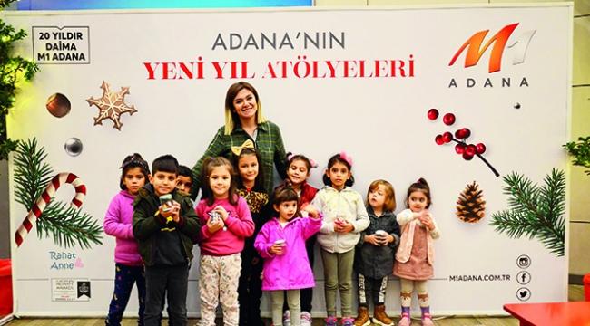 Adana'nın yeni yıl coşkusu M1'de başladı !