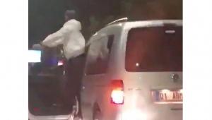'Araçta dansa' 5 ay hapis cezası onandı
