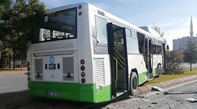 Beton mikseri, halk otobüsüne çarptı yaralılar var