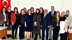 Beyhan Demirtaş'tan Halk Sağlığı Hizmetleri Başkanlığı'na ziyaret