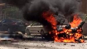 Bomba yüklü araç patladı: 3 ölü