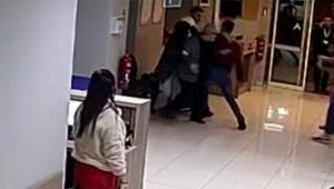 Hastane çalışanına bıçaklı saldırı