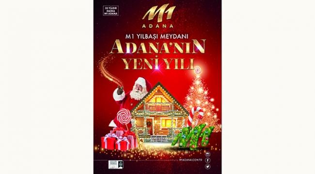 M1 yılbaşı meydanı Adana'nın yeni yılı !