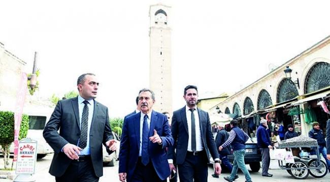 Tepebaşı Belediye Başkanı Ataç Seyhan'da