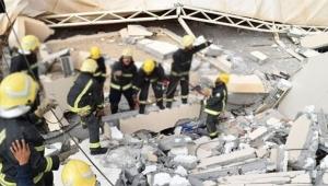 Üniversitenin duvarı çöktü: 2 ölü, 13 yaralı