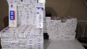 2 bin 250 paket kaçak sigara ele geçirildi