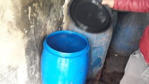 2 bin 310 litre kaçak içki ele geçirildi