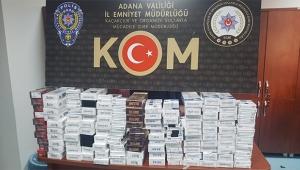 2 bin 940 paket kaçak sigara ele geçirildi