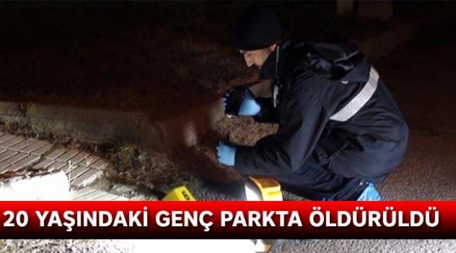 20 yaşındaki genç parkta öldürüldü