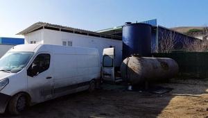 40 ton kaçak akaryakıt ele geçirildi