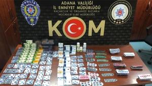 Adana'da 210 bin lira değerinde kaçak ürün ele geçirildi