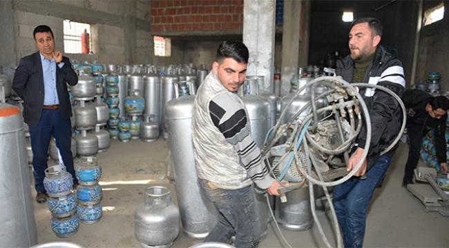 Adana'da kaçak tüp ele geçirildi