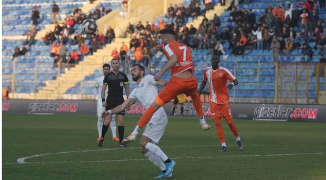 Adanaspor ikinci yarıya iyi başladı:0-0