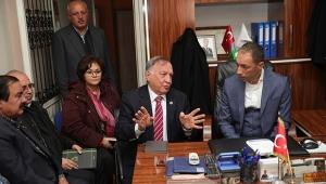 Başkan Akay: Seyhan'ı muhtarlarla yöneteceğiz