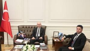 Başkan Ay'dan Bakan Soylu'ya ziyaret