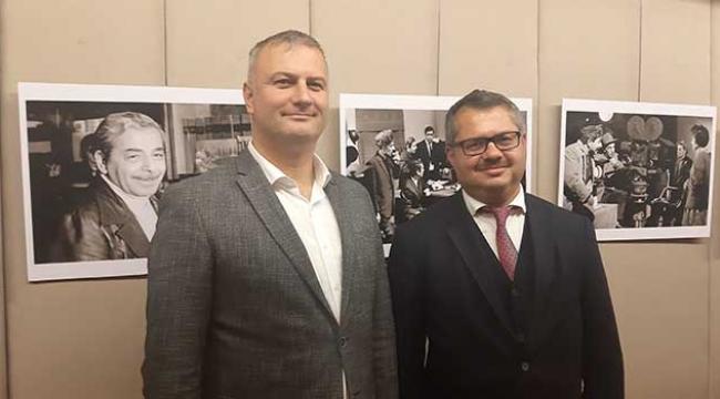 Başkan Topuz'dan Büyükelçiye ziyaret