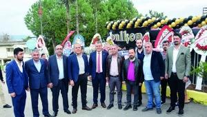 Başkanlar 'Balkon Park'ta' buluştu