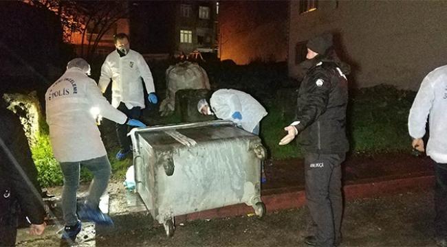 Çöp konteynerında ceset parçaları bulundu