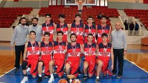 Erkanlı basketbolcular çifte şampiyonluk getirdi