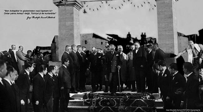 """""""Etem Çalışkan Çizgileriyle"""" Atatürk portreleri sergileniyor"""
