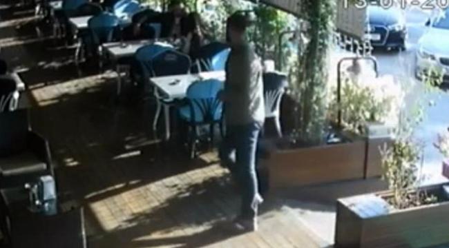 Kafe cinayetinin görüntüleri ortaya çıktı