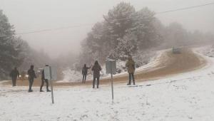 Kar görmeye gittiler karda mahsur kaldılar