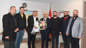 Oto Center yönetiminden Demirtaş'a nezaket ziyareti