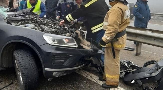 Zincirleme trafik kazası: 2 ölü, 12 yaralı