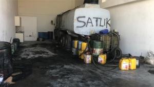 Adana'da 16 ton kaçak akaryakıt ele geçirildi