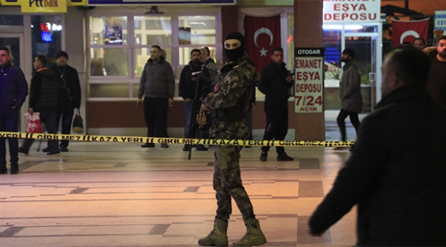 Adana'da otogarda silahlı sopalı kavga