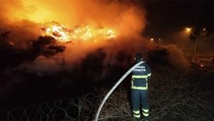 Adana'daki fabrika yangını 28 saattir devam ediyor
