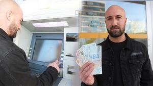ATM'den aldığı fazla parayı iade etti