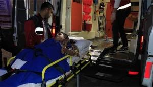 Bakkala giden kız çocuğu tabancayla vuruldu