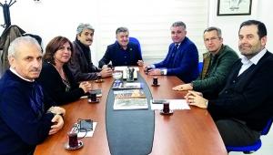 Başkan Kıran'dan  Korkut'a ziyaret