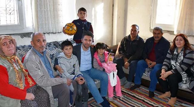 Başkan Mehmet Ay, gönüller kazanmaya devam ediyor