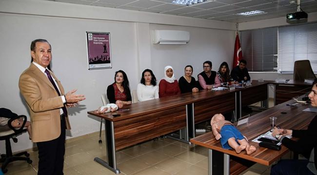 Büyükşehir personellerine ilkyardım eğitimi
