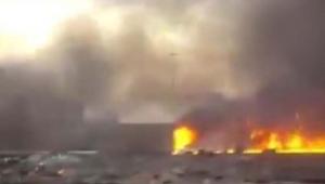 Korkunç yangın 5 ölü, 66 yaralı
