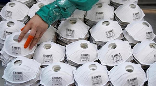Maskeler kara borsaya düştü Hastaneden 6 bin maske çalındı