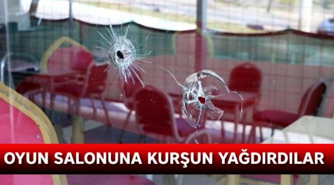 Oyun salonuna silahlı saldırı